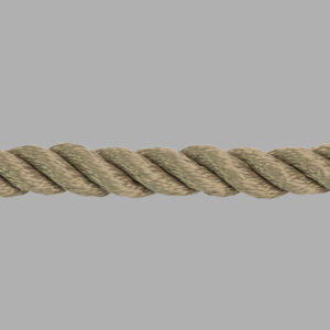 3 Strand Polyester Rope (tan)